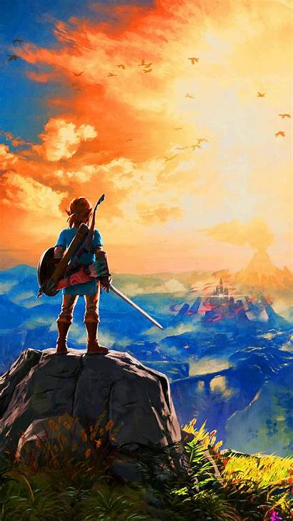 Zelda Breath Legend Wild Phone Fan Wallpapers