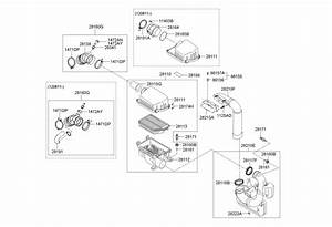 Hyundai Elantra Engine Diagram Air Intake System