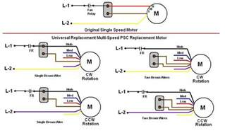 Ceiling Fan Capacitor 5 Wire by Wiring Diagram Free Sample Routing Dayton Electric Motor