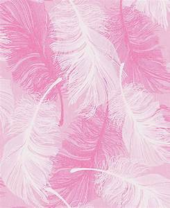 Coloroll Feather Powder Pink Wallpaper Inspired Wallpaper