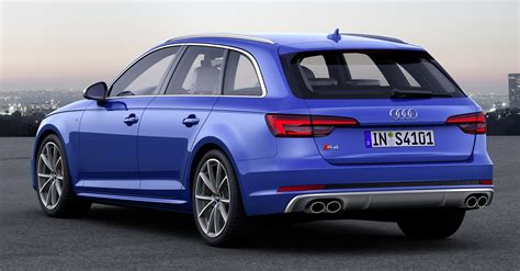 Audi S4 Hp by B9 Audi S4 Avant Revealed 354 Hp 500 Nm Estate Image 447425