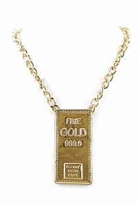 FINE GOLD BAR PENDANT NECKLACE from Haute & Rebellious My