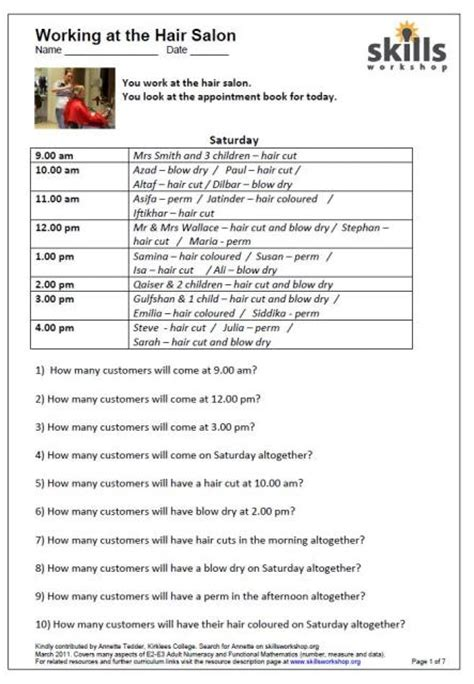 Number Names Worksheets » Timetables Math  Free Printable Worksheets For Pre School Children