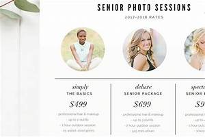 Ad  Senior Pricing Template By By Stephanie Design On  Creativemarket  Modern Pricing Guide For