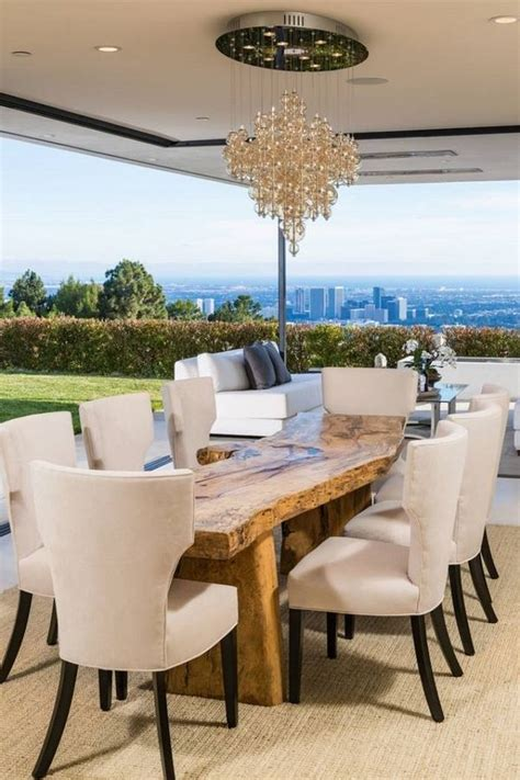 spectacular rustic dining tables   solid wood