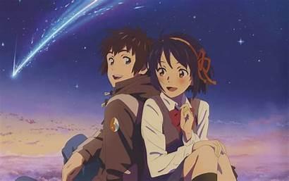 Mitsuha Taki Miyamizu Tachibana Couple Kimi Wa