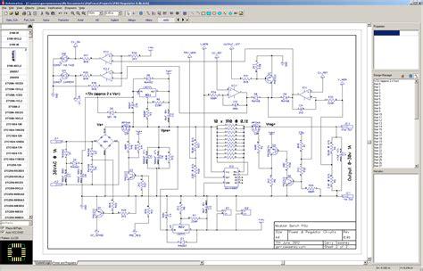 3 logiciels gratuit pour faire un schema electrique t 233 l 233 charger - Schema Electrique Gratuit