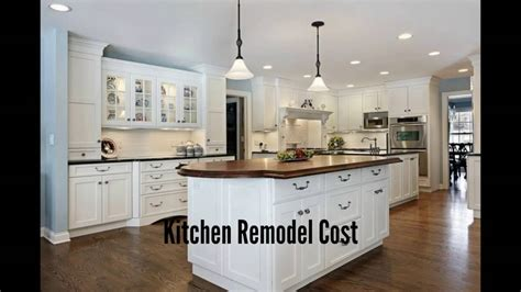 Kitchen Remodel Cost  Kitchen Remodeling Costs  Youtube