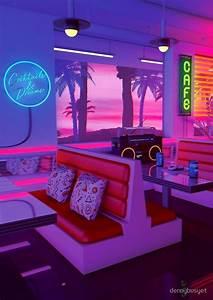 Neon Deco Chambre : cocktails and dreams by dennybusyet l fondos de pantalla tumblr ne n et fondos para iphone ~ Melissatoandfro.com Idées de Décoration