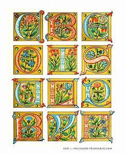 best 25 alphabet letters design ideas on pinterest With illuminated alphabet templates