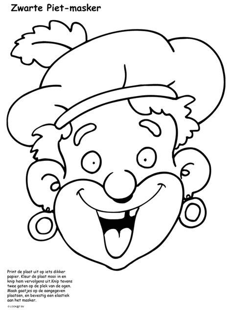 Kleurplaat Zwarte Piet Hoofd by Sinterklaas En Zwarte Piet Kleurplaat Huis Piet Coloriage