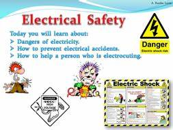 electrical safety physics by teacher rambo teaching With electrical safety training ppt