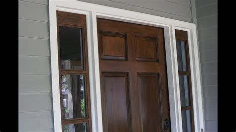 staining  door  stripping stain  existing