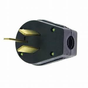 New 3 Prong Plug 50 Amp 220v Plug