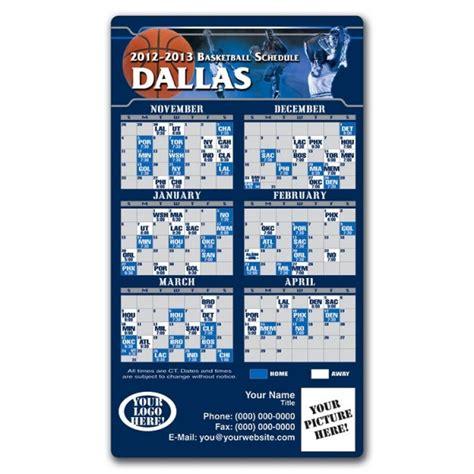 dallas mavericks basketball team schedule magnets
