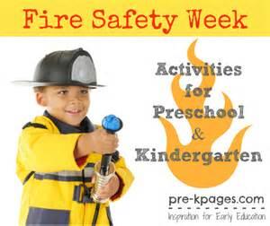 Preschool Fire Safety Week