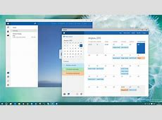 Leaked Windows 10 build brings Google Calendar support