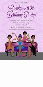 Girls Night Out Birthday Invitation - Printable 40th ...