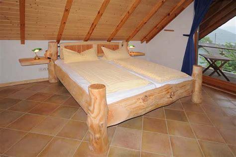Bett Naturholz Atemberaubend Schappis Holzkreationen #8382