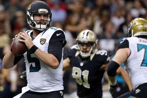 Jacksonville Jaguars Vs. New Orleans Saints