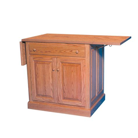 drop leaf kitchen island american  custom furniture