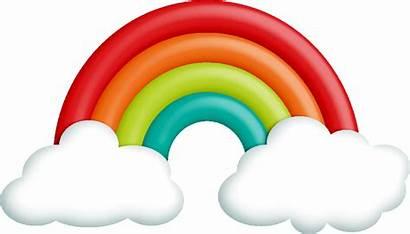 Rainbow Clipart Flores Cintas Clip Side Plantas