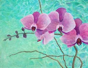 Orchids In Pink | Pink orchids, Pink painting and Desktop ...