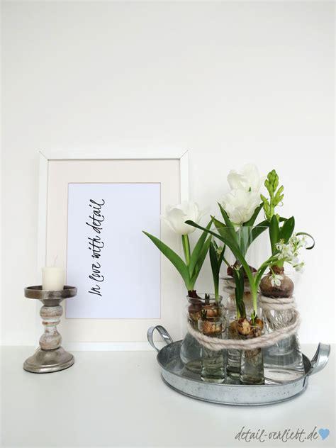 Frühblüherzwiebeln In Der Vase // Diy Mit Blumen