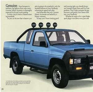 1989 Nissan Hardbody Dealer Brochure