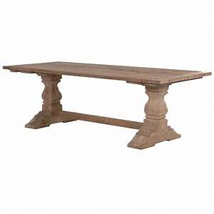 Large Colonial Reclaimed Pine Refectory Dining Table