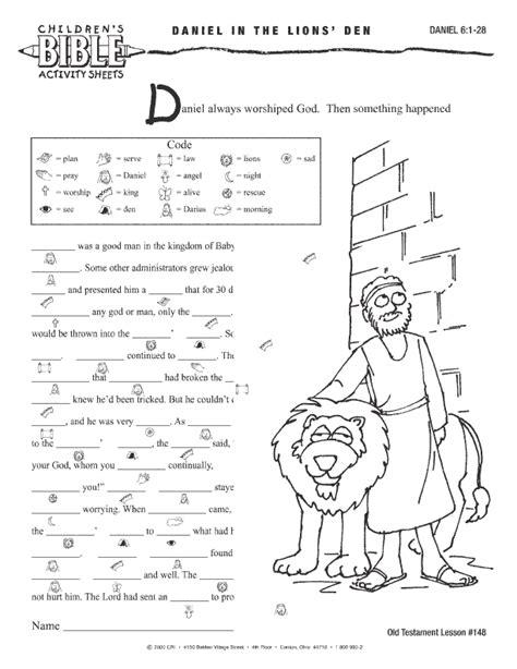 bible worksheets children s bible activities