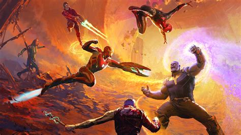 Art Of Avengers Infinity War, Hd Superheroes, 4k Wallpapers, Images, Backgrounds, Photos And