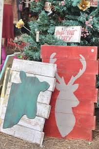 Pinterest Christmas Craft Idea Wood Pallet