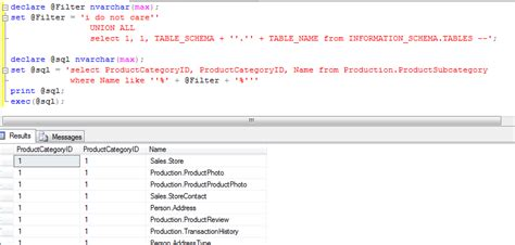 sql list all tables october 13 2011 36 chambers the legendary journeys