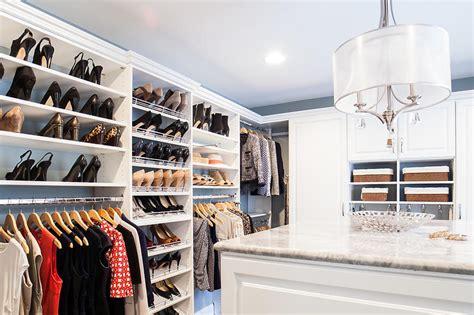 custom walk in closets design home storage solutions in