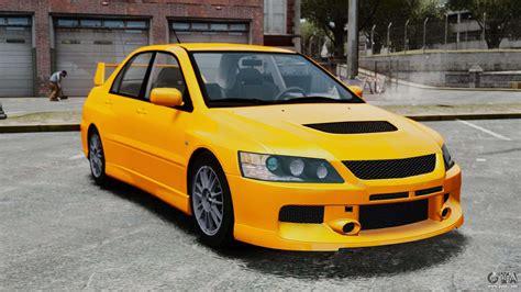 Mitsubishi Evolution 4 by Mitsubishi Lancer Evolution Ix Mr For Gta 4