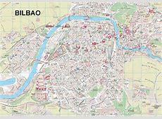 Map Bilbao Tourist Map of Bilbao