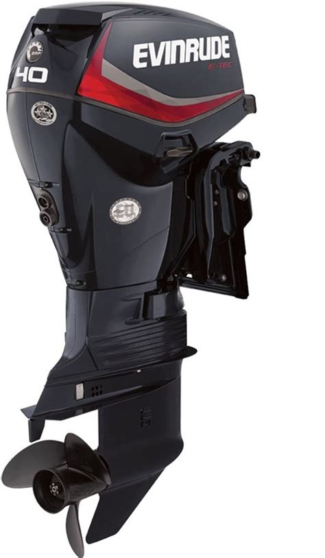 Outboard Dealers by Evinrude E Tec Inline 40 Hp E40dpgl 2016 New Outboard