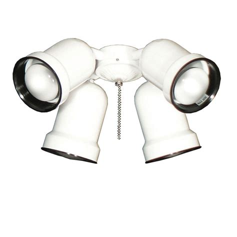 4 spotlight ceiling light troposair 463 spotlight pure white indoor outdoor ceiling