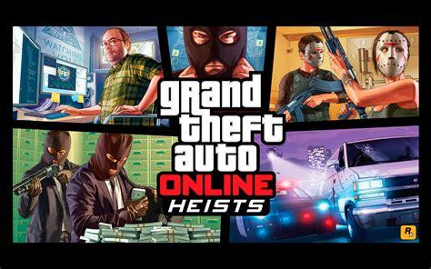 Gta 5 Online Heists Wallpaper