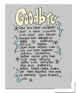 Toddlers Goodbye Quotes. QuotesGram