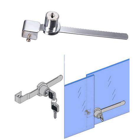 Sliding Cabinet Door Lock by 2 Key Keyed Alike Display Showcase Lock Sliding