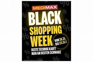 Black Shopping Week : medimax black shopping week lockt mit tollen angeboten ~ Orissabook.com Haus und Dekorationen