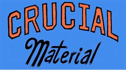 Crucial Material Releases Week 29th October September