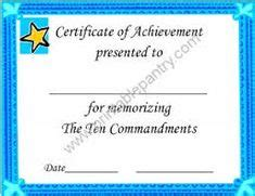 This Certificate Certifies The Completion Of Sunday School 12 Best Sunday School Certificates Images Award