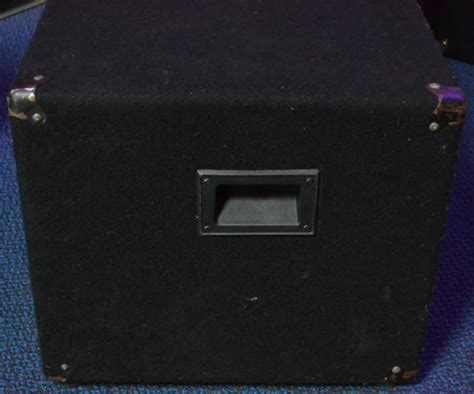 Fender 2x10 Guitar Cabinet by Fender Bxr 210h Cabinet Bass Cabinet 2x10 Reverb