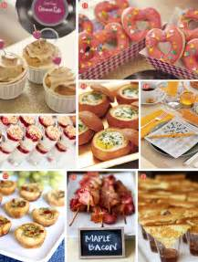 bridesmaid brunch reception food on fall wedding wedding reception and wedding reception food