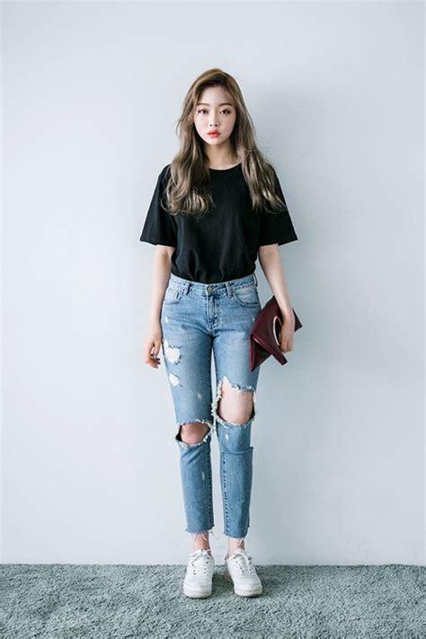 tshirt coachella grey korean daily fashion official korean fashion