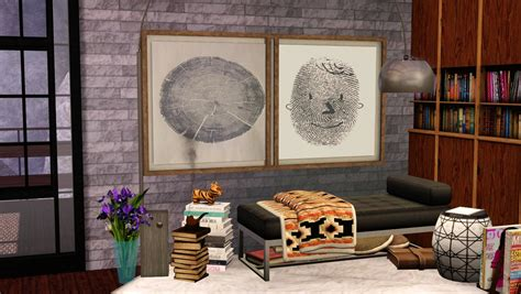 My little the sims 3 world: My Sims 3 Blog: More Wall Art by Aelisc