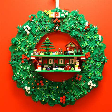 brick marketplace four fun lego christmas wreath ideas